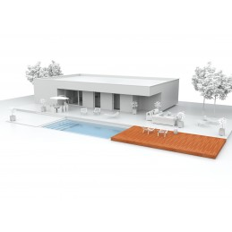 KIT TERRASSE MOBILE 7m x 3,5m