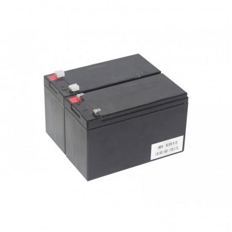 """Pack Batteries 12V pour motorisation """"SM8"""""""