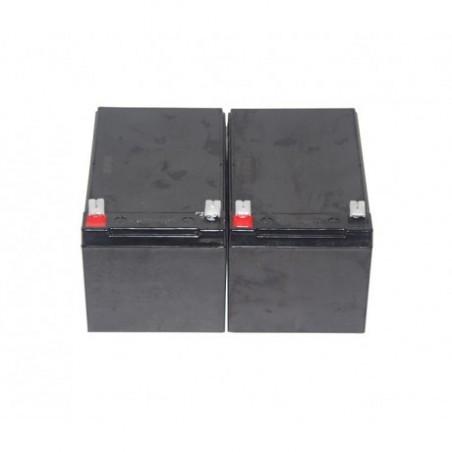 """Pack Batteries 12V pour motorisation """"SM15"""""""